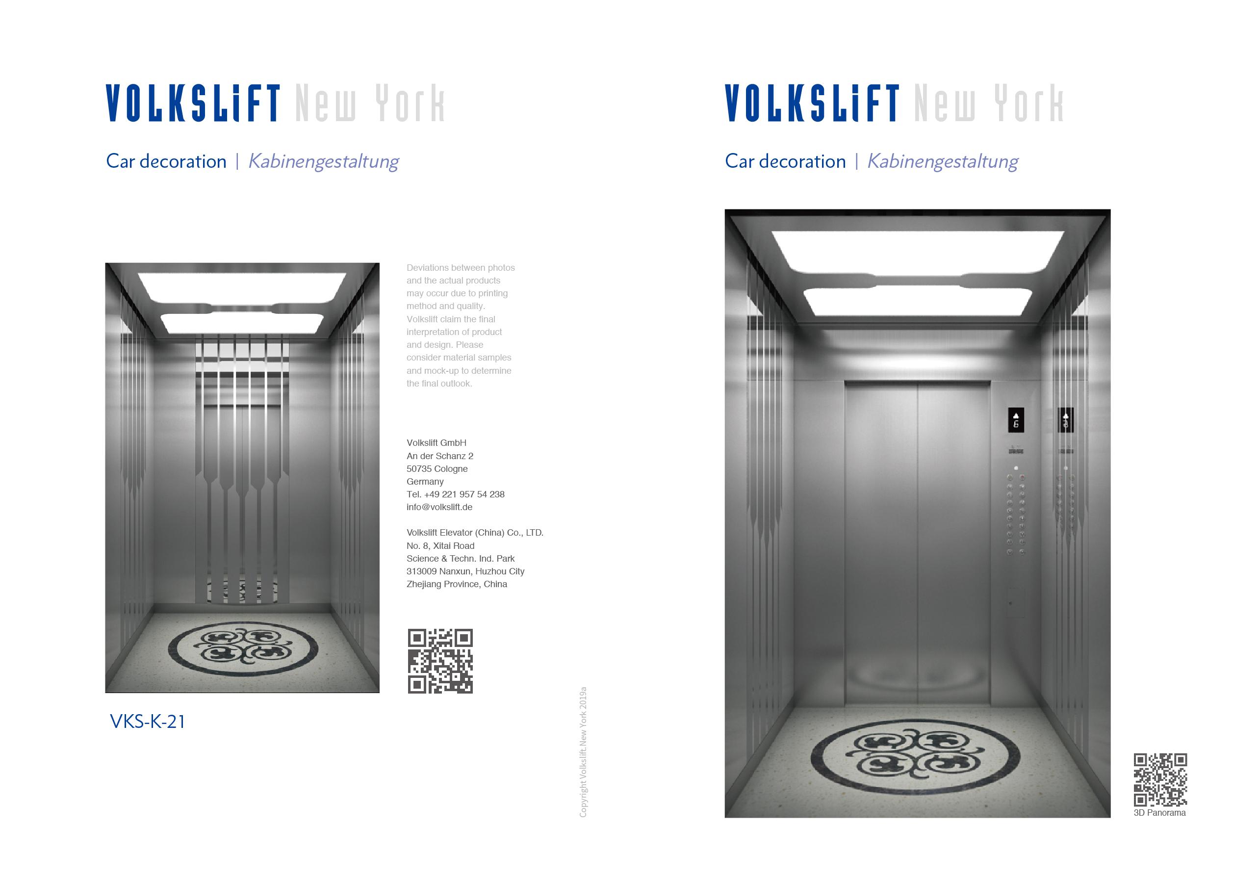 New York Elevator Design - Oryx Elevator
