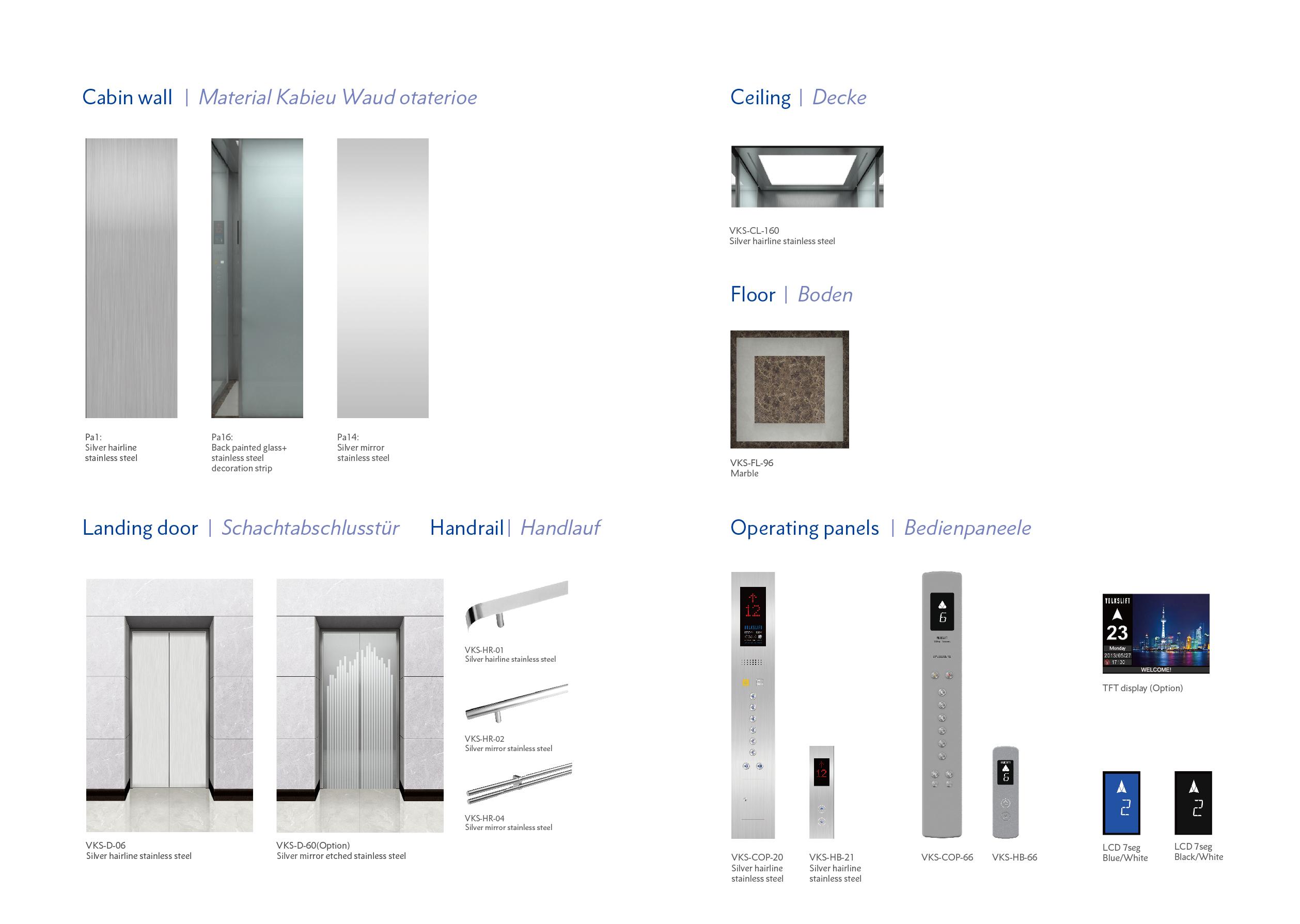 Torino Elevator Design - Oryx Elevator