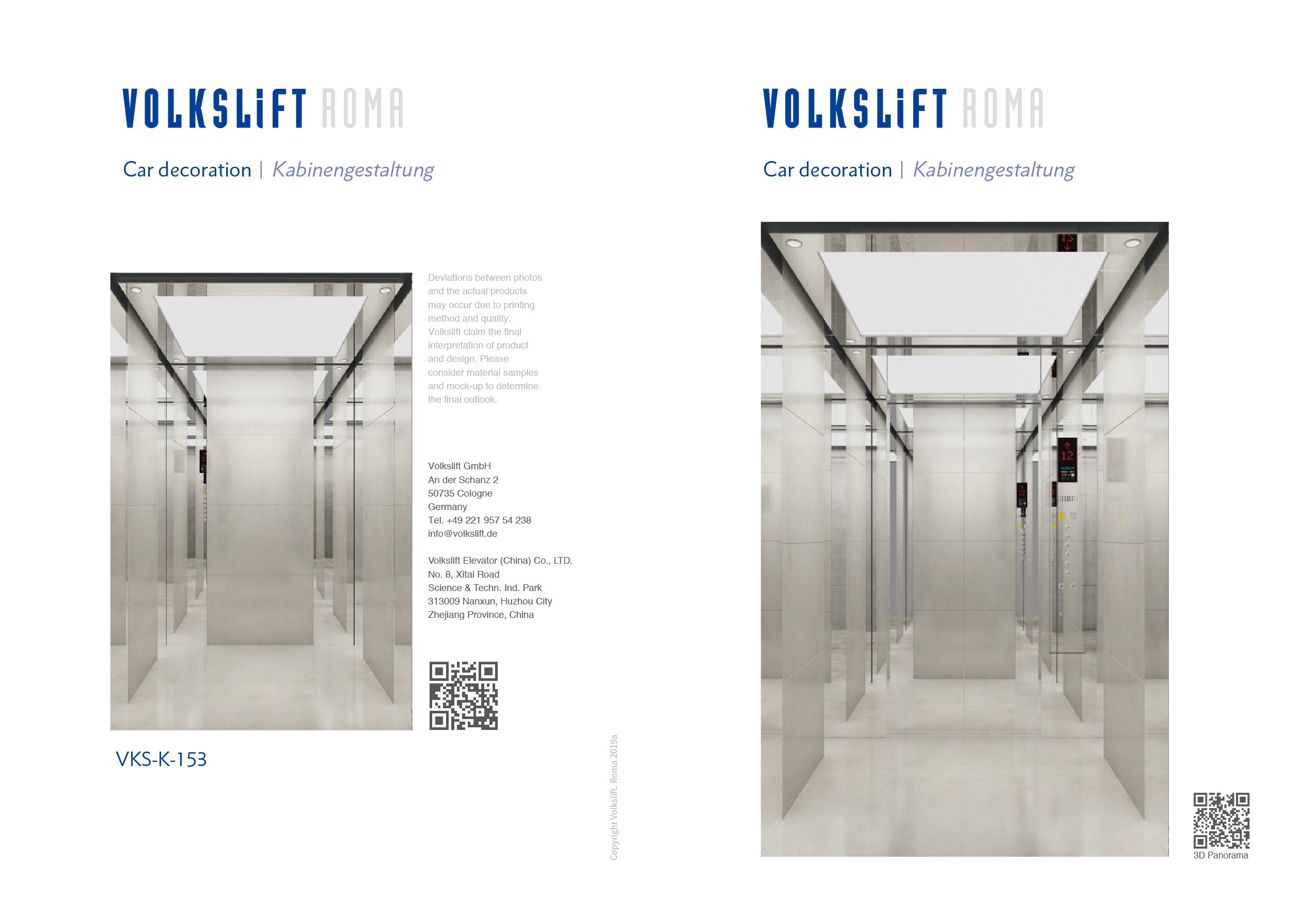 Roma Elevator Design - Oryx Elevator