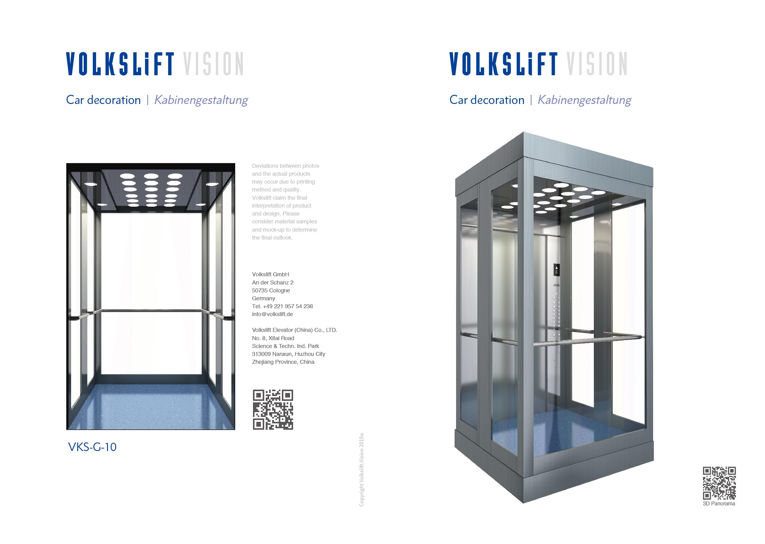 Vision Elevator Design – Oryx Elevators